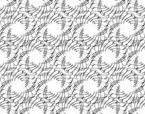 Monochrome flower shape texture, black lines on white background, seamless patterns for textile design, wallpaper, wrap. Vector design vector illustration