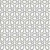 Monochrome flowers seamless pattern Royalty Free Stock Image