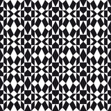 Monochrome Folk Pattern Royalty Free Stock Photos