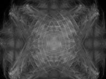 Monochrome fractal background. Digital collage. Royalty Free Stock Photography