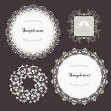 Monochrome frames Stock Images