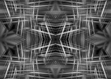 Monochrome futuristic background Royalty Free Stock Photo