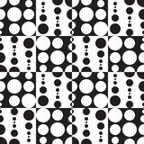 Monochrome Geometric Background Royalty Free Stock Image