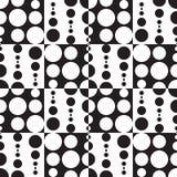 Monochrome Geometric Background royalty free illustration