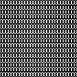 Monochrome geometric ornament. Vector seamless pattern. Royalty Free Stock Image