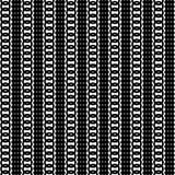 Monochrome geometric ornament. Vector seamless pattern. Stock Photos