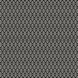 Monochrome geometric pattern. Abstract seamless pattern with triangles. vector illustration stock illustration