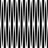Monochrome geometric pattern with lines. Seamlessly repeatable. Stock Photo