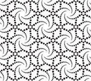 Monochrome Geometric Pattern Stock Photography