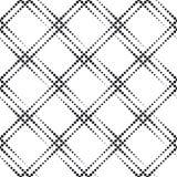 Monochrome Geometric Pattern Royalty Free Stock Photos