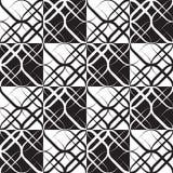 Monochrome Geometric Pattern Stock Image