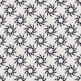 Monochrome geometric seamless vector pattern. Modern geometric pattern. Stylish repeating background, contemporary graphic design Stock Photo