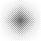 Monochrome geometrical pattern - vector background illustration from curved shapes Stock Photography