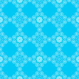Monochrome geometrical seamless pattern Stock Photo