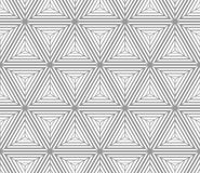 Monochrome gradually striped cubes Royalty Free Stock Image