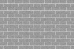 Monochrome gray brick wall abstract background. Texture of bricks.Template design for web banners.  stock illustration