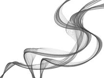 Monochrome grey abstract fire line Royalty Free Stock Image