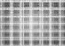 Monochrome Grey Squares background template. Black and white grey background with white lines forming squares or checkers Stock Images