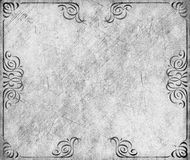 Monochrome grunge vintage banner background Stock Photography
