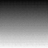 Monochrome halftone abstract background Stock Photography