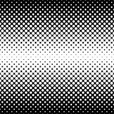 Monochrome halftone abstract background Royalty Free Stock Photography