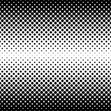 Monochrome halftone abstract background Royalty Free Stock Images