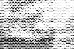Monochrome halftone background Abstract  grunge texture Stock Photos