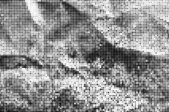 Monochrome halftone background Abstract  grunge texture Royalty Free Stock Photo