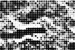 Monochrome halftone background Abstract  grunge texture Royalty Free Stock Images
