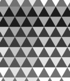 Monochrome halftone Seamless pattern background. Abstract triangle texture royalty free illustration