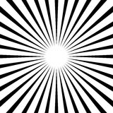 Циркуляр, линии геометрическая картина нашивок Monochrome illustrati бесплатная иллюстрация