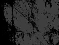 Monochrome illustration. Abstract background, with grunge effects. Texture for many purposes Stock Images