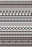 Monochrome lace Stock Image