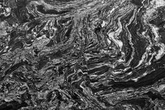 Monochrome marble texture Royalty Free Stock Images