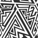 Monochrome maze patern Royalty Free Stock Photography