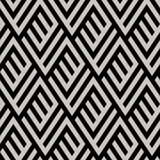 Monochrome maze pattern Royalty Free Stock Images