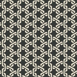 Monochrome mesh chain seamless pattern Stock Images
