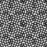 Monochrome messy seamless pattern with parallel lines, black Royalty Free Stock Images