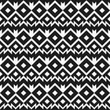 Monochrome mexico seamless pattern Royalty Free Stock Photo