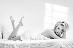 Monochrome morning Royalty Free Stock Photos