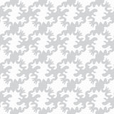 Monochrome objects on a white background a seamless pattern a vector illustration Stock Images