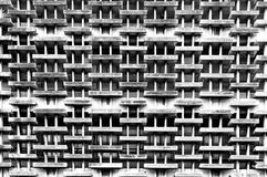 Monochrome of old building external detail pattern stock photos