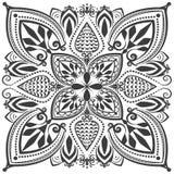 Monochrome oriental ornament Royalty Free Stock Photo