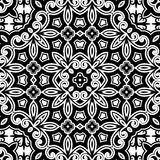 Monochrome ornament Royalty Free Stock Images