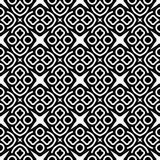 Monochrome pattern_2. Vector seamless pattern. Perfect for wallpaper or textile design patterns Royalty Free Stock Image