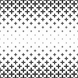 Monochrome pattern - abstract vector background graphic design Royalty Free Stock Images