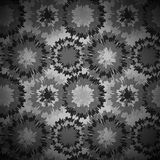 Monochrome pattern with drops Royalty Free Stock Image