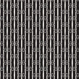 Monochrome pattern vector background Stock Photo