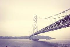 Monochrome Photography of Bridge Stock Image