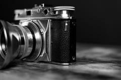 Monochrome Photography of Camera royalty free stock image